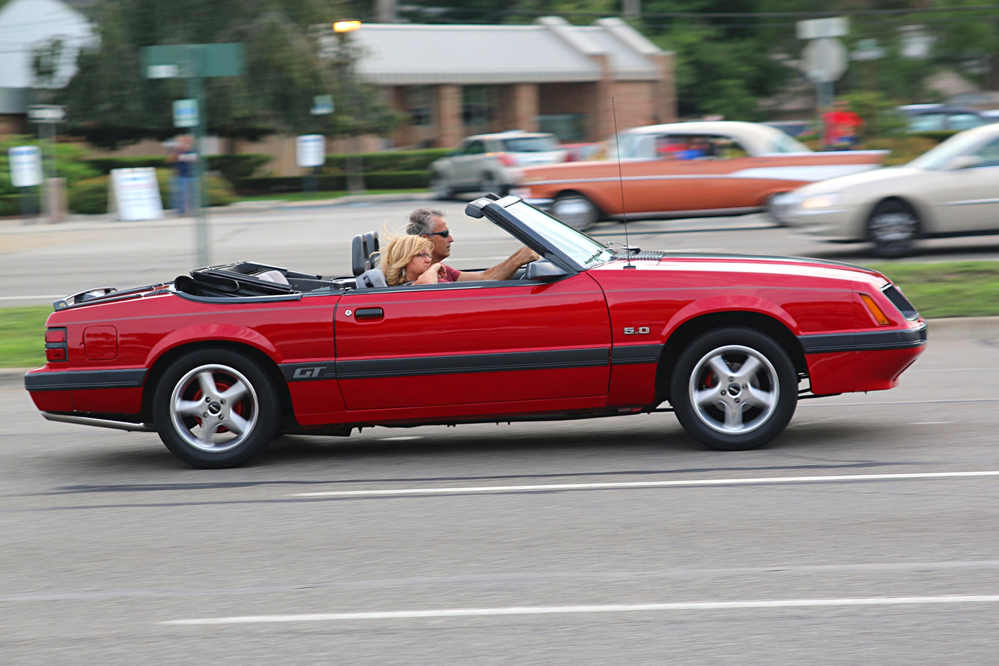 2016 Woodward Dream Cruise Mustangs 053