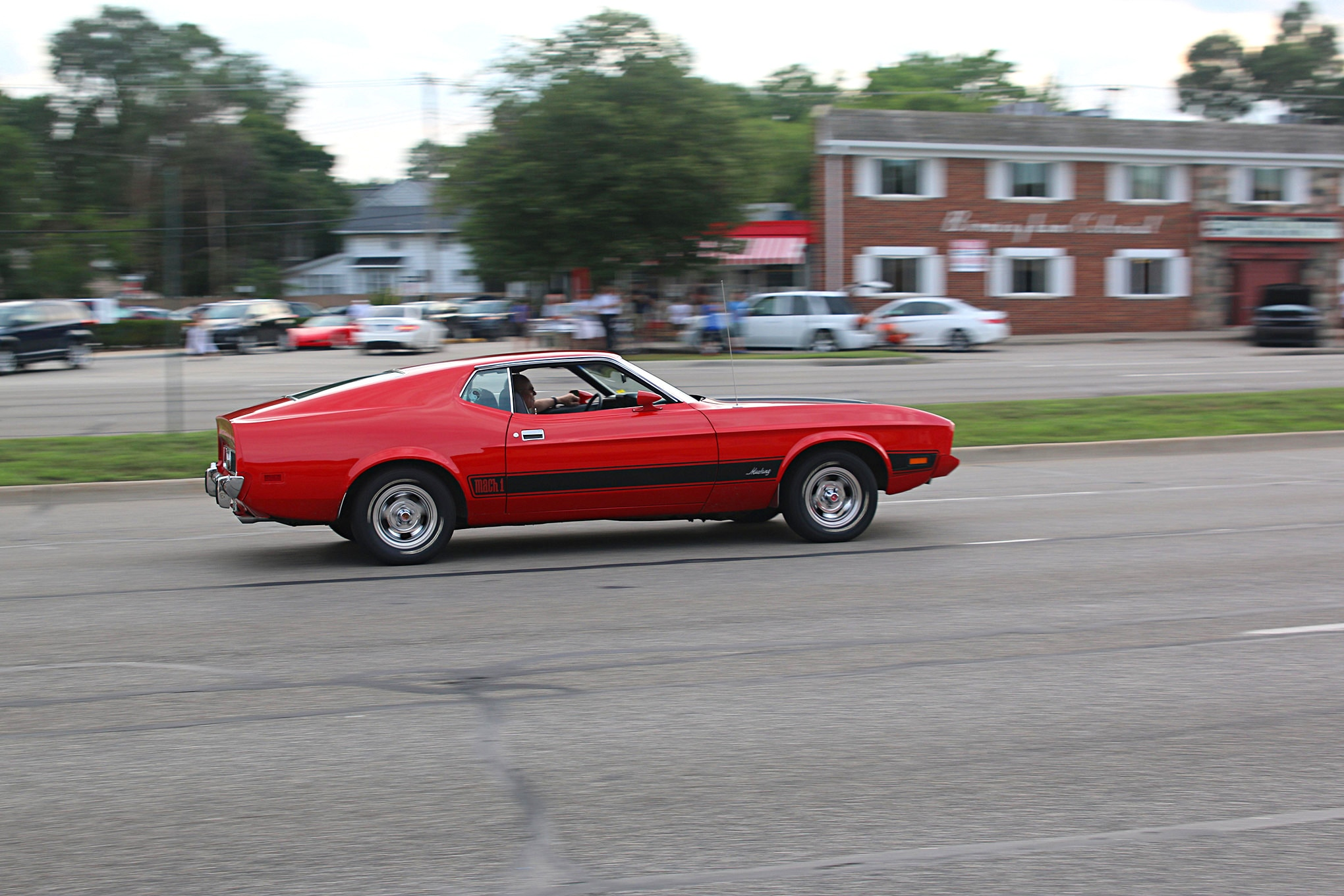 2016 Woodward Dream Cruise Mustangs 049