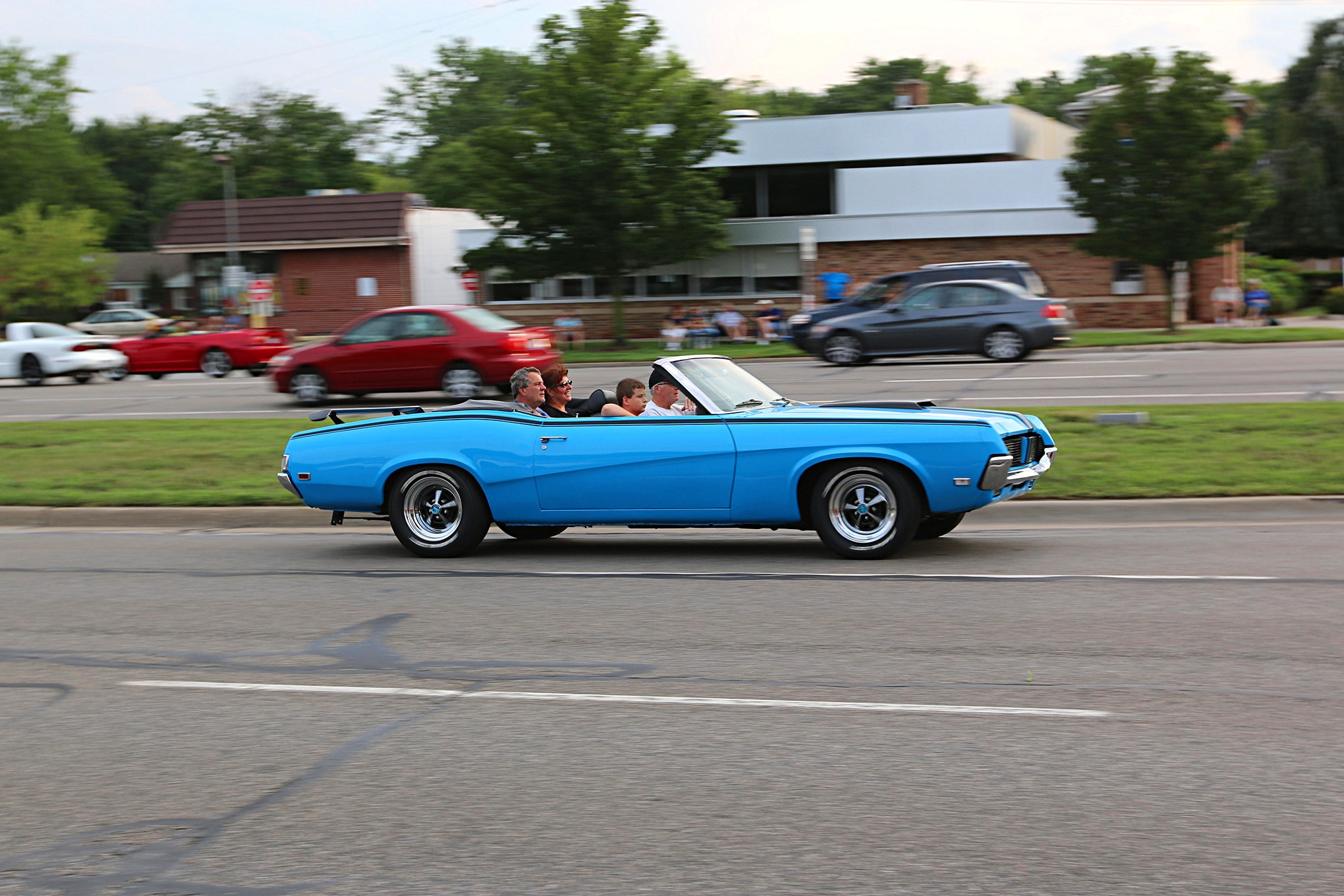 2016 Woodward Dream Cruise Mustangs 047