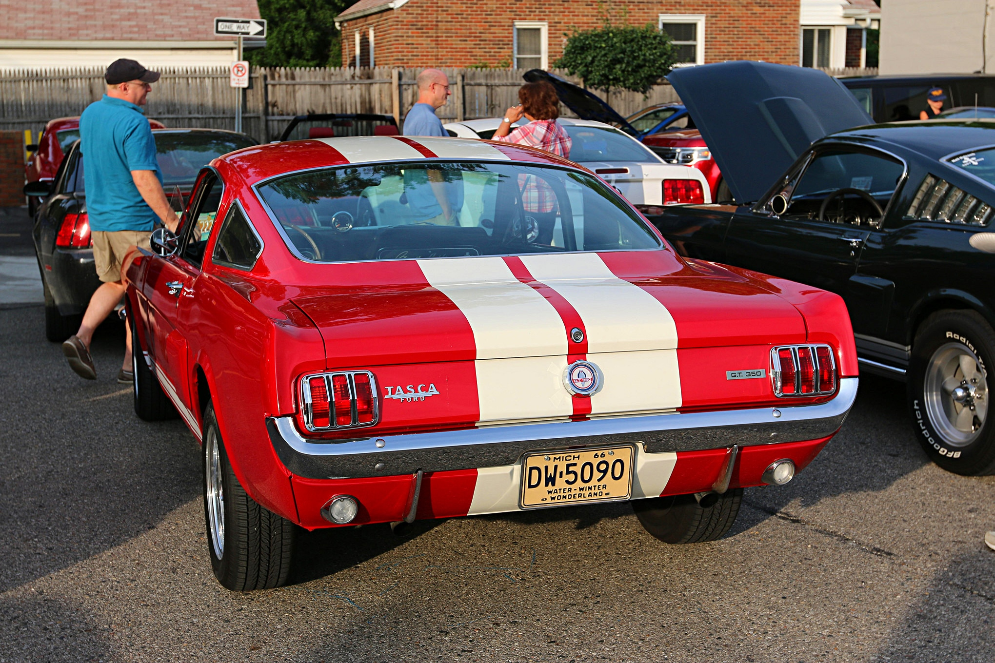 2016 Woodward Dream Cruise Mustangs 044