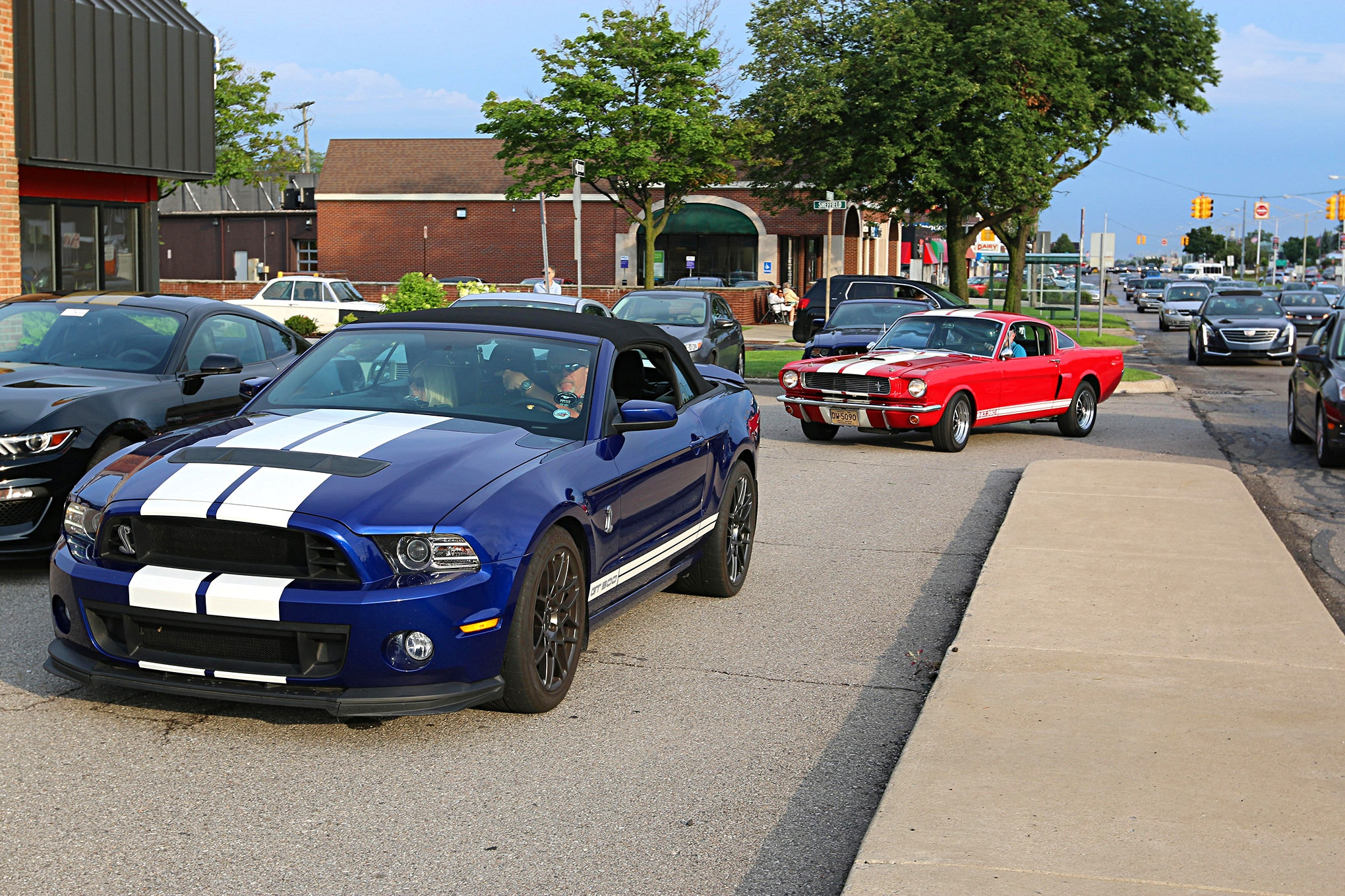 2016 Woodward Dream Cruise Mustangs 043