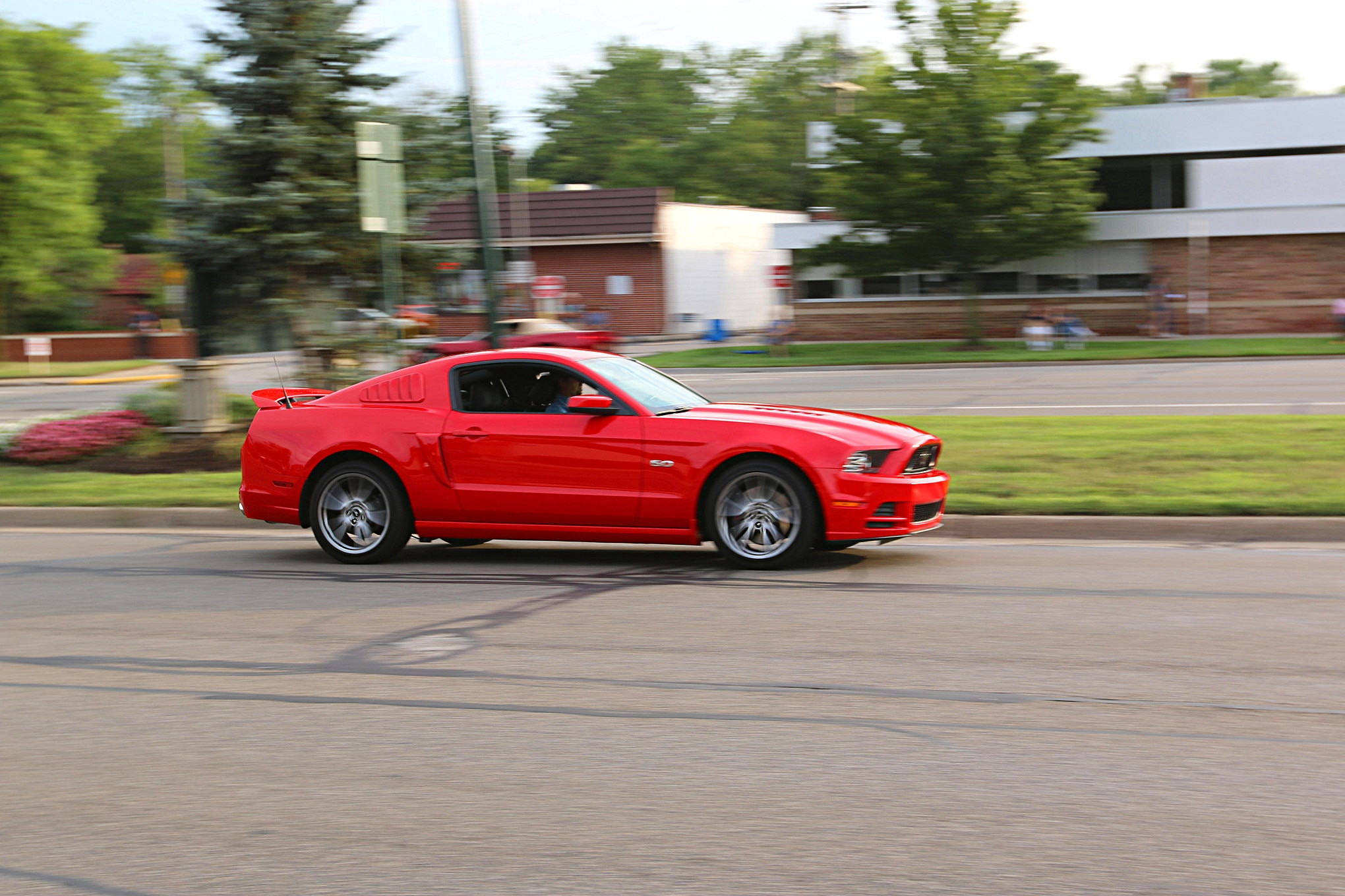 2016 Woodward Dream Cruise Mustangs 040
