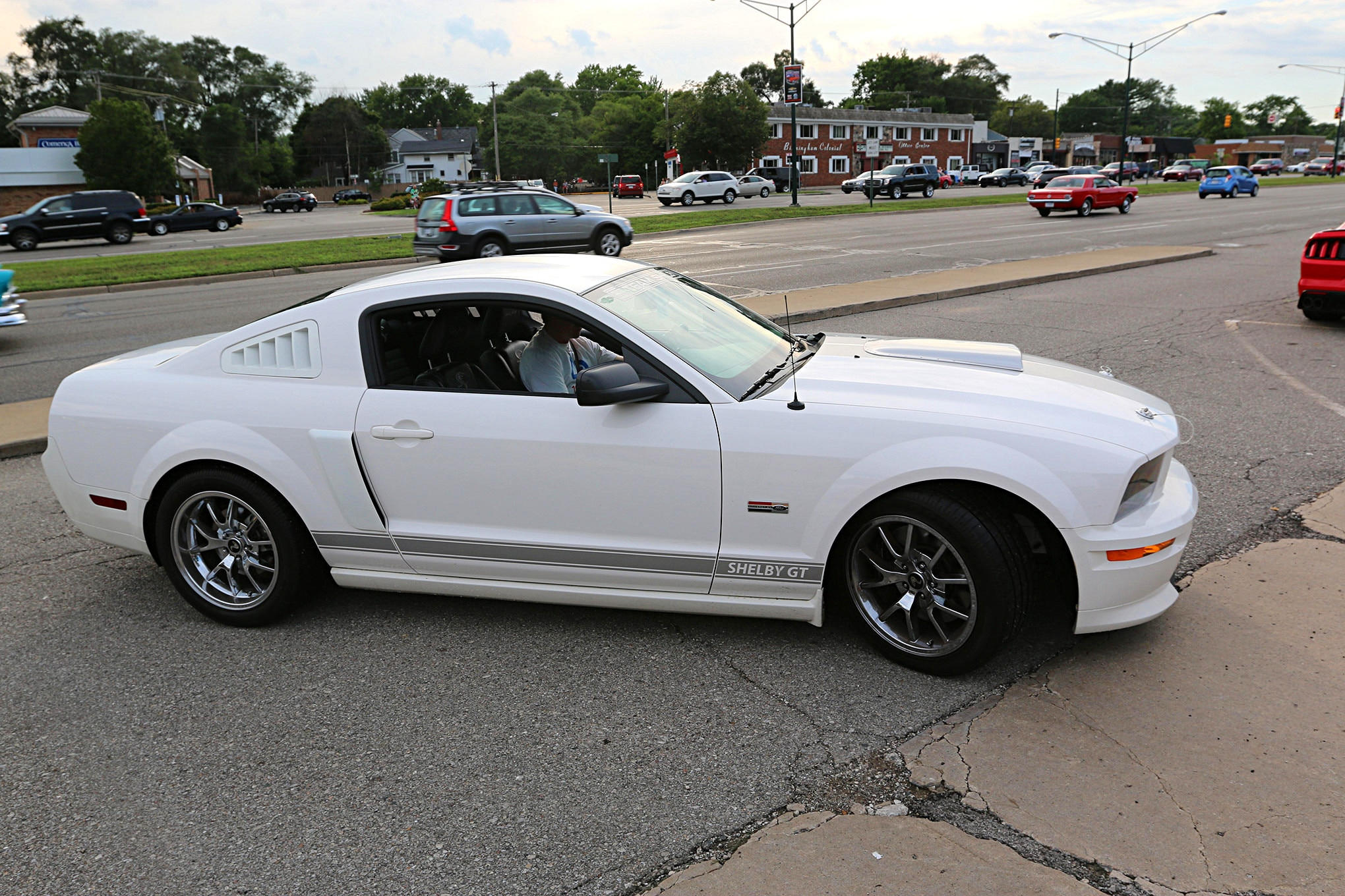 2016 Woodward Dream Cruise Mustangs 030