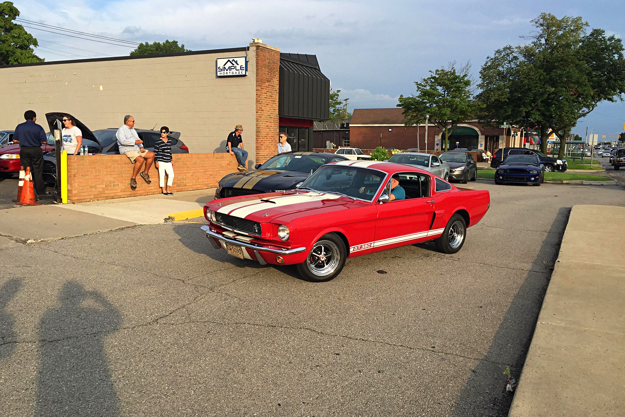 2016 Woodward Dream Cruise Mustangs 010