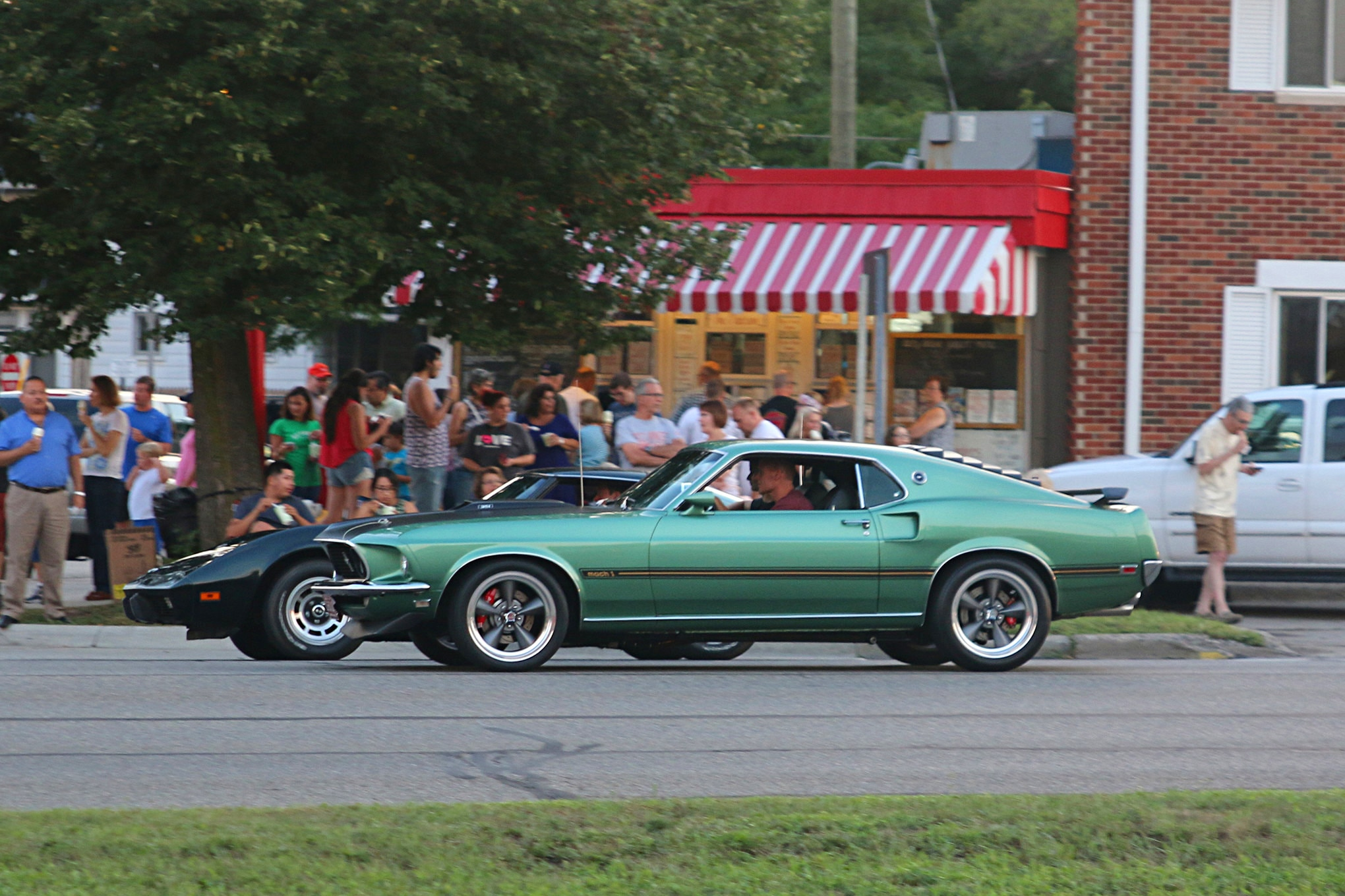 2016 Woodward Dream Cruise Mustangs 002