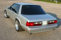 1991 Ford Mustang Lx Fox Body Rear Quarter Top View