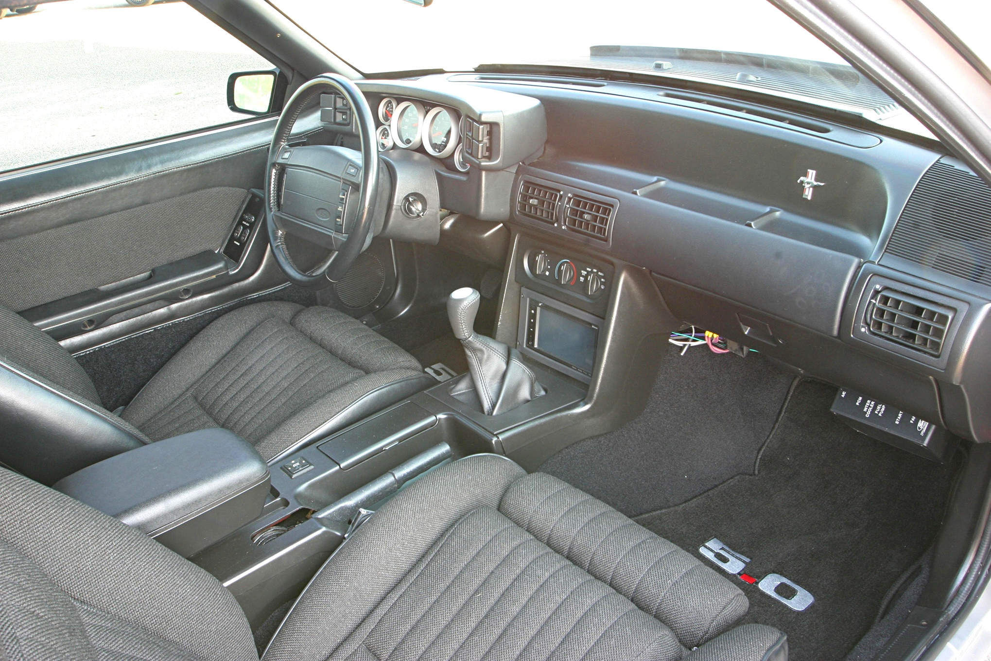 1991 Ford Mustang Lx Fox Body Interior Passenger Side