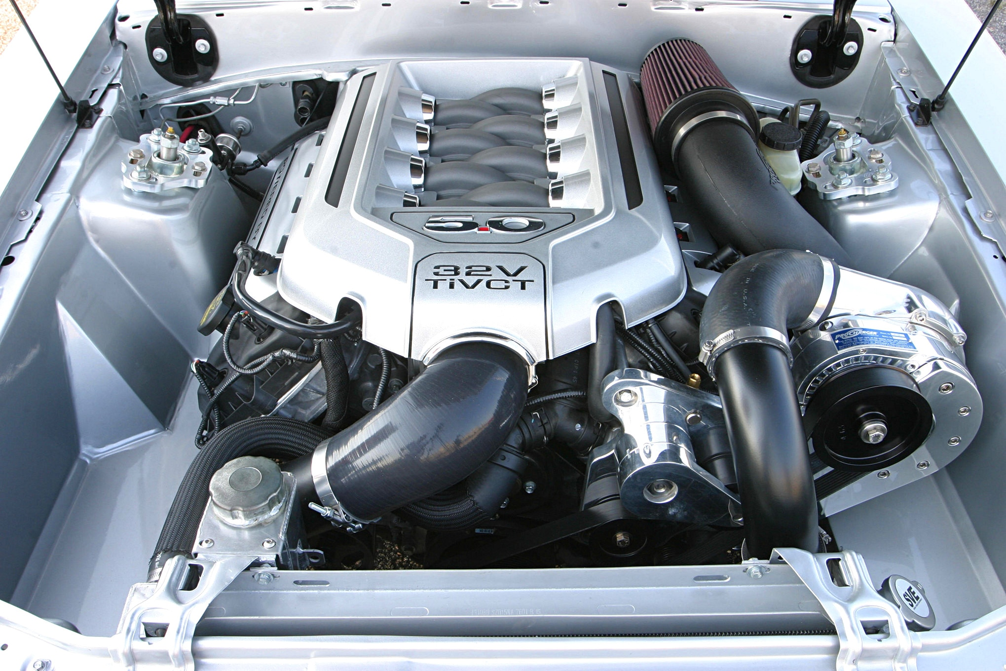 1991 Ford Mustang Lx Fox Body Engine Head On