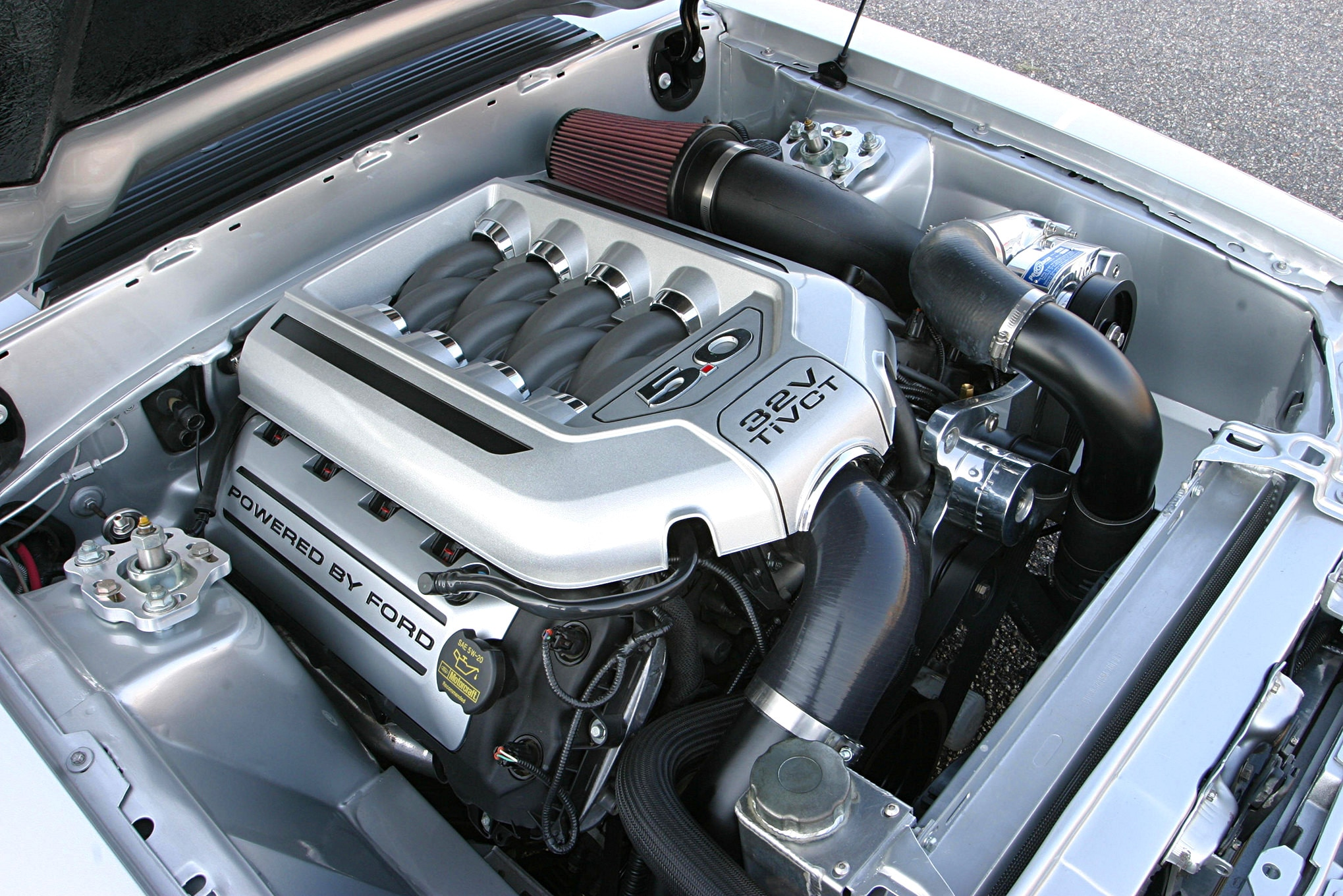 1991 Ford Mustang Lx Fox Body Engine Bay