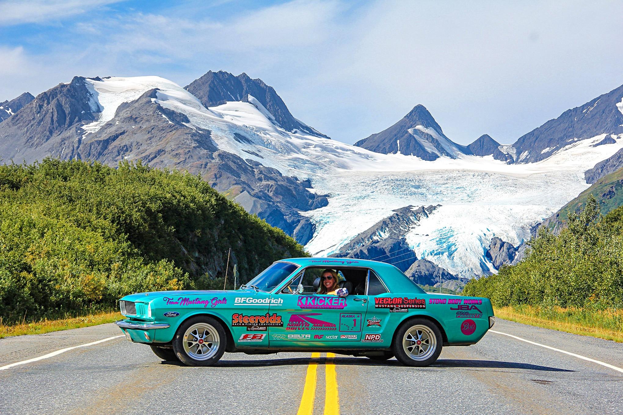 1965 Ford Mustang Alaska Roadtrip Adventure 10