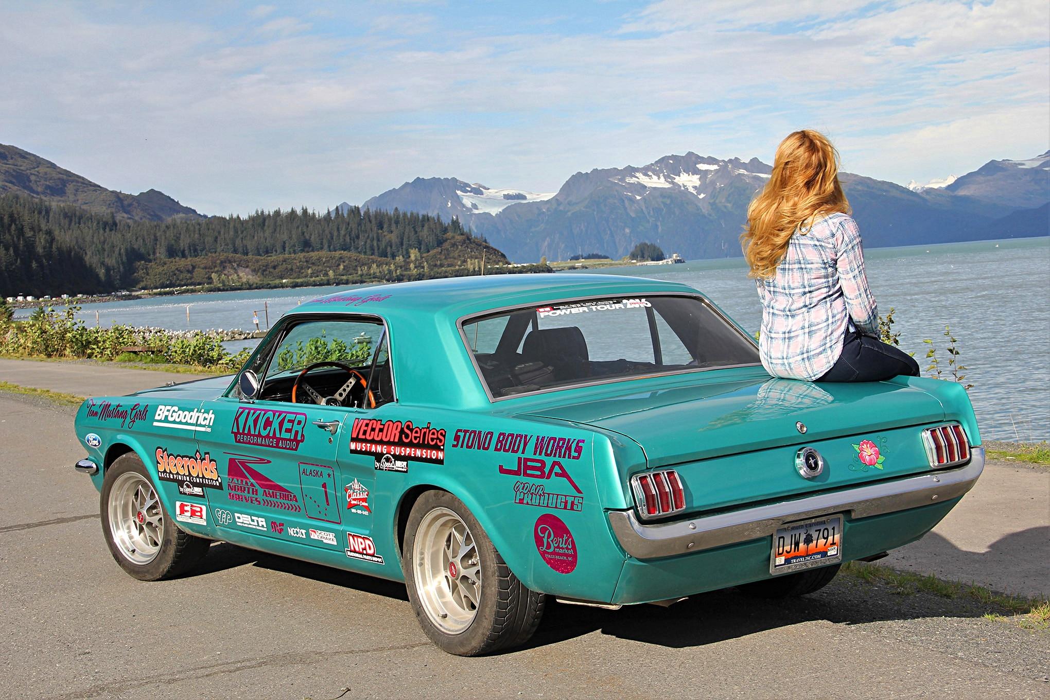 1965 Ford Mustang Alaska Roadtrip Adventure 09