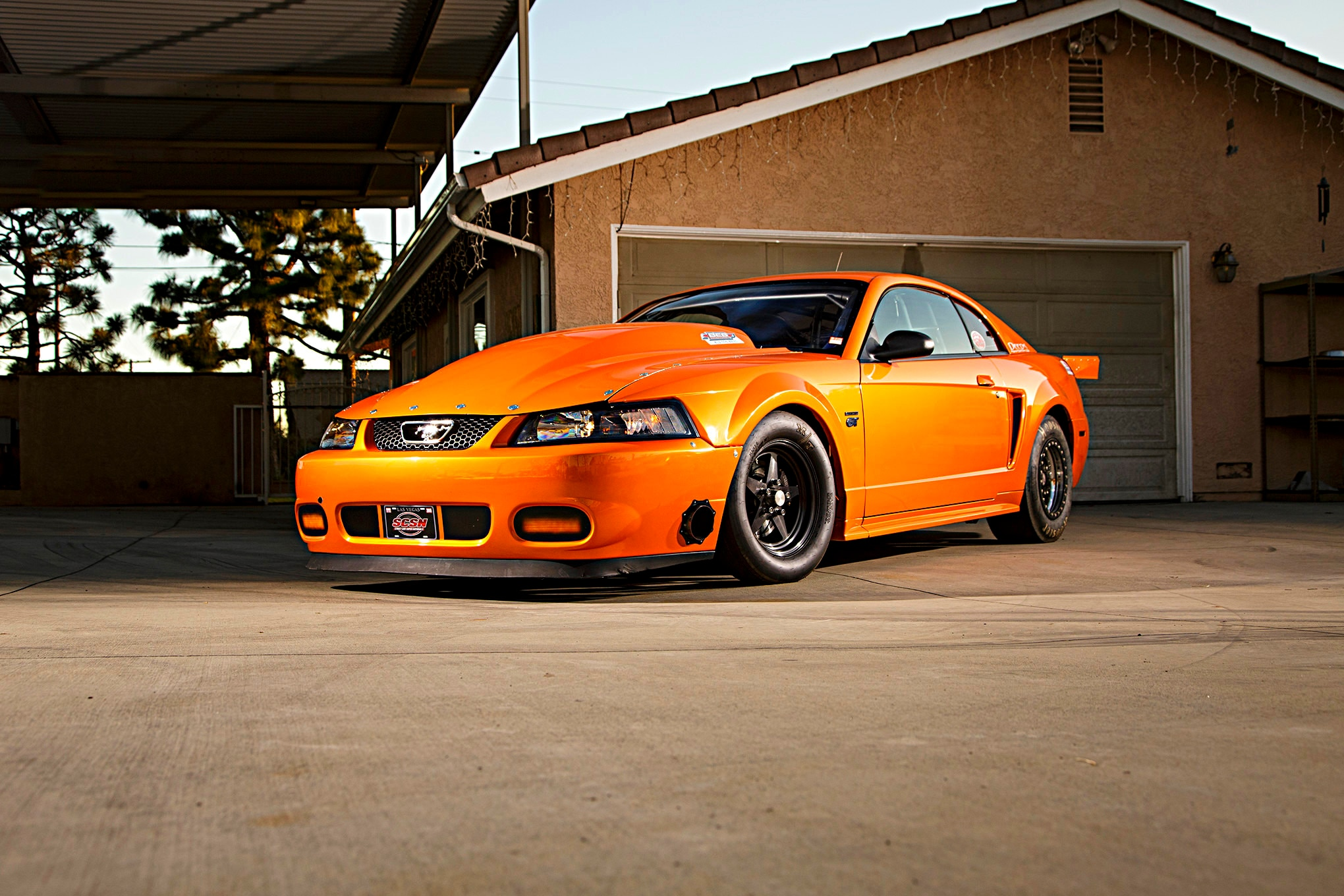 - New This 2002 127295740 Ford Edge 85 Mustang Orange Photo
