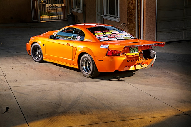 2002 Ford Mustang New Edge Orange 83
