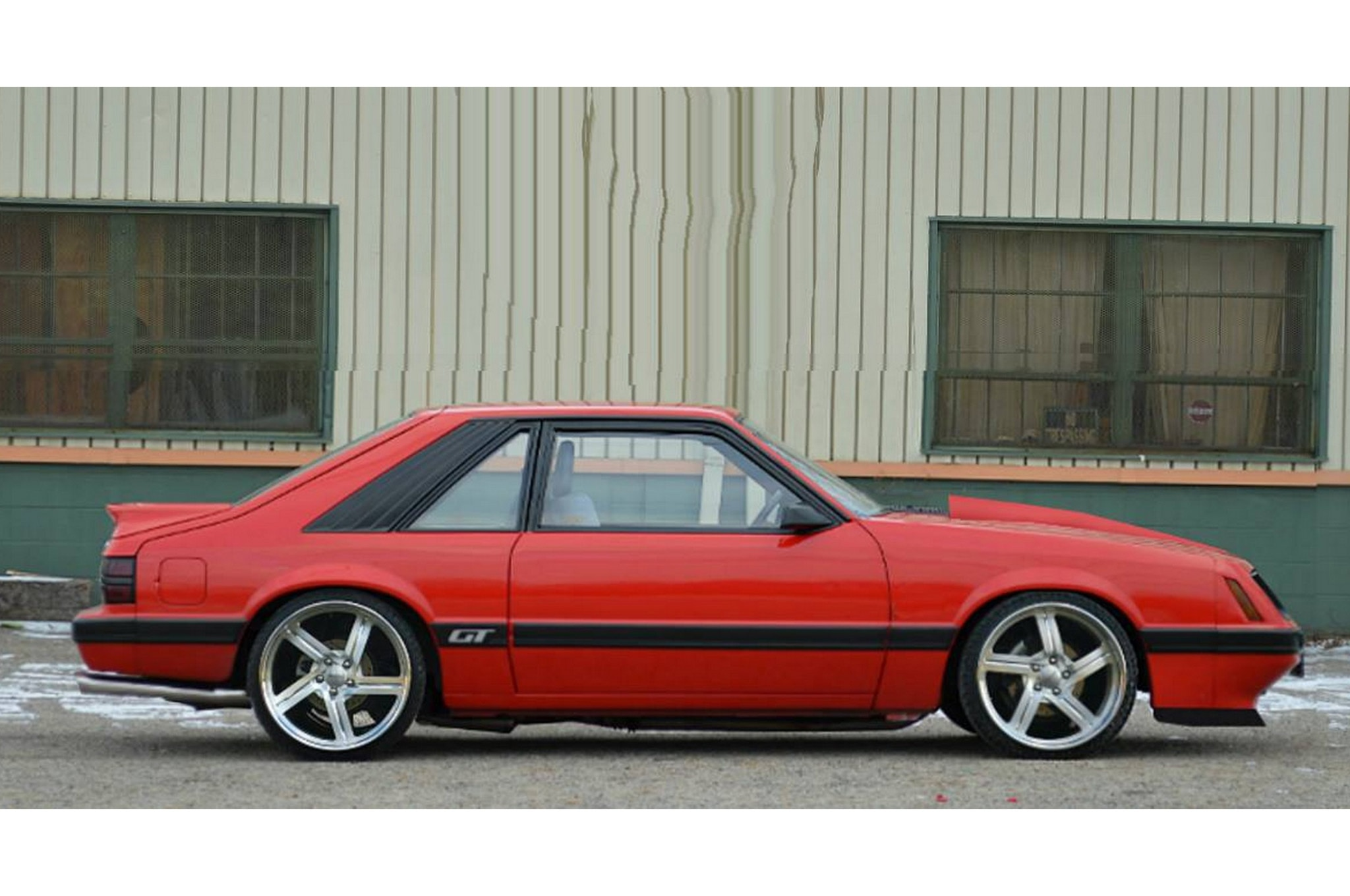 1986 Ford Mustang Tony Oliver Four Eye 004