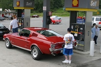 Mustang Filling Up Fuel