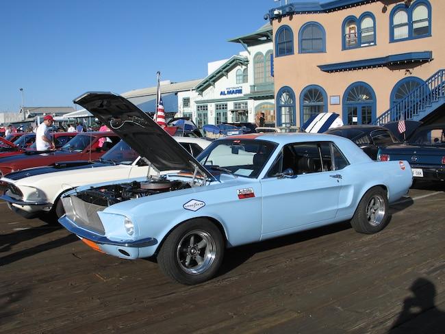 2016 Shelbys On Santa Monica Pier Lasaac 01