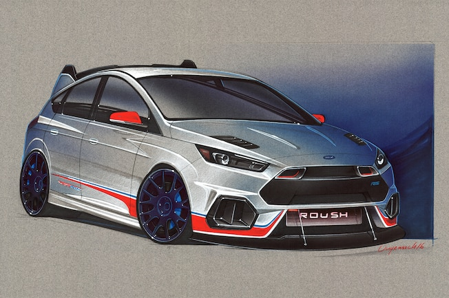 2016 Sema Preview Focus And Fiesta Builds From The Ford Booth 01