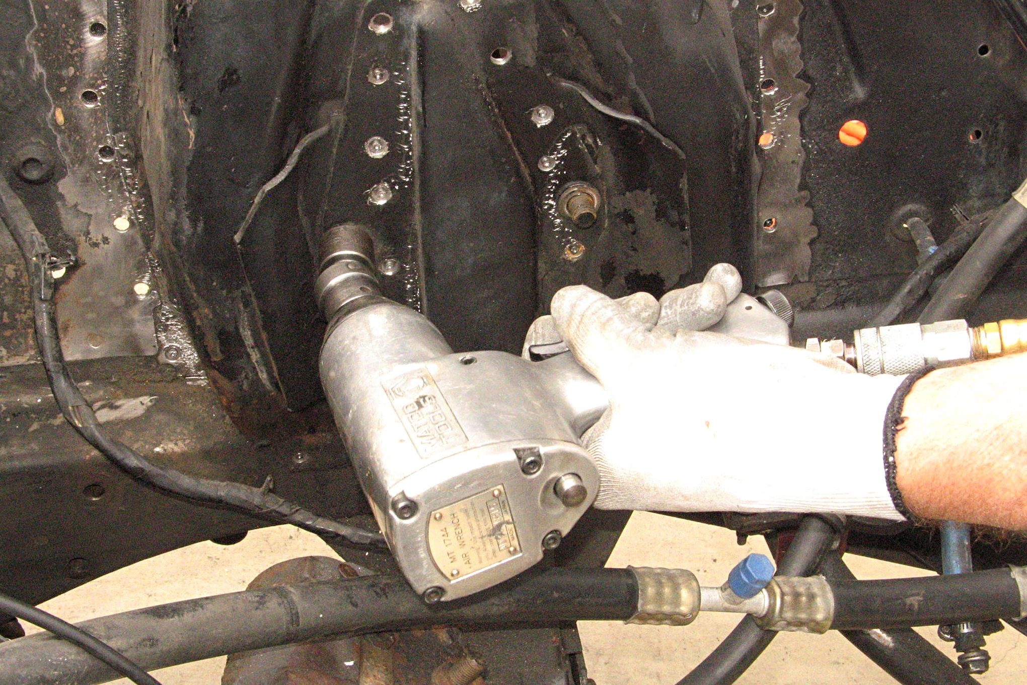 006 Shock Tower Replacement Remove Control Arm