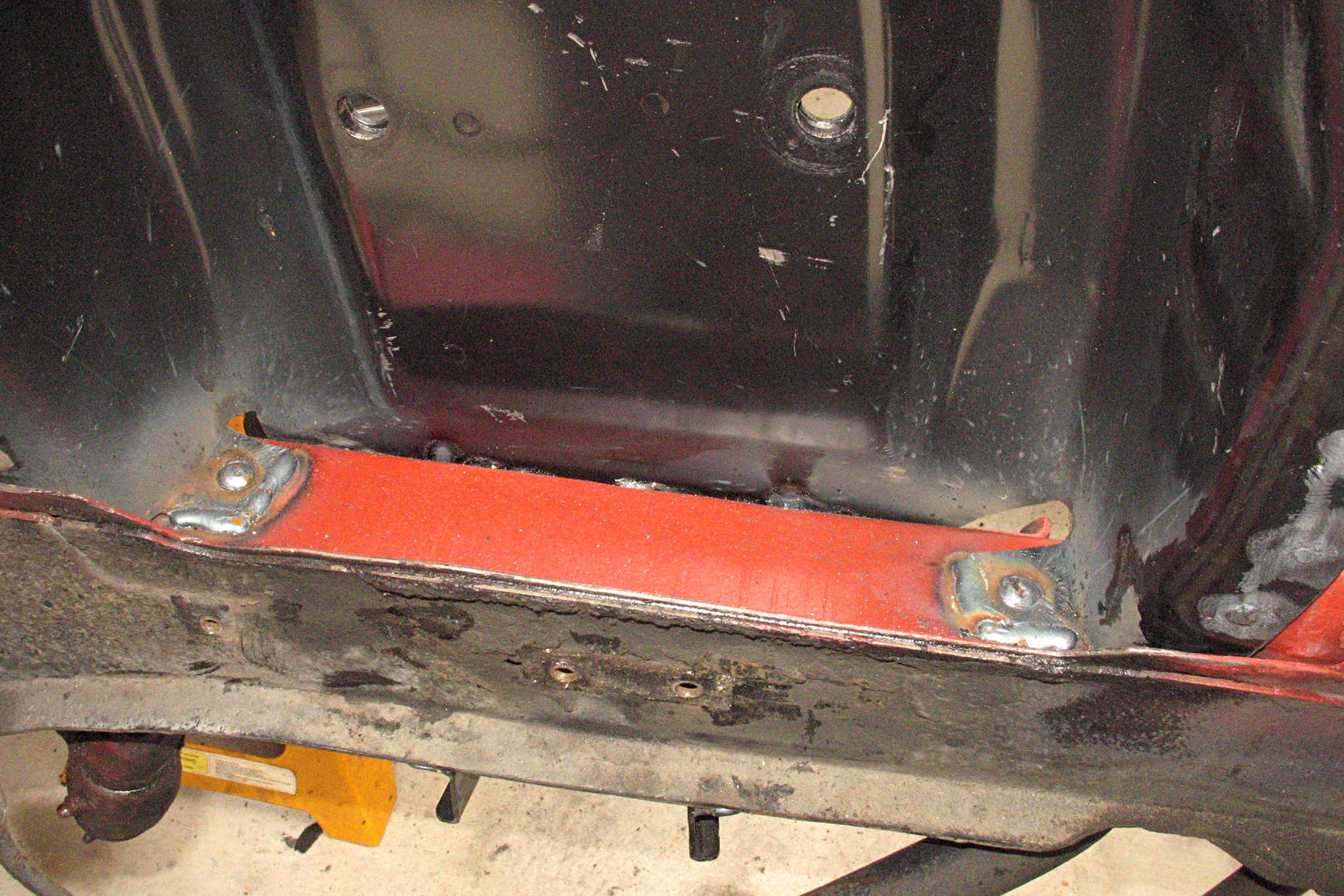 021 Shock Tower Replacement Weld Frame Rail