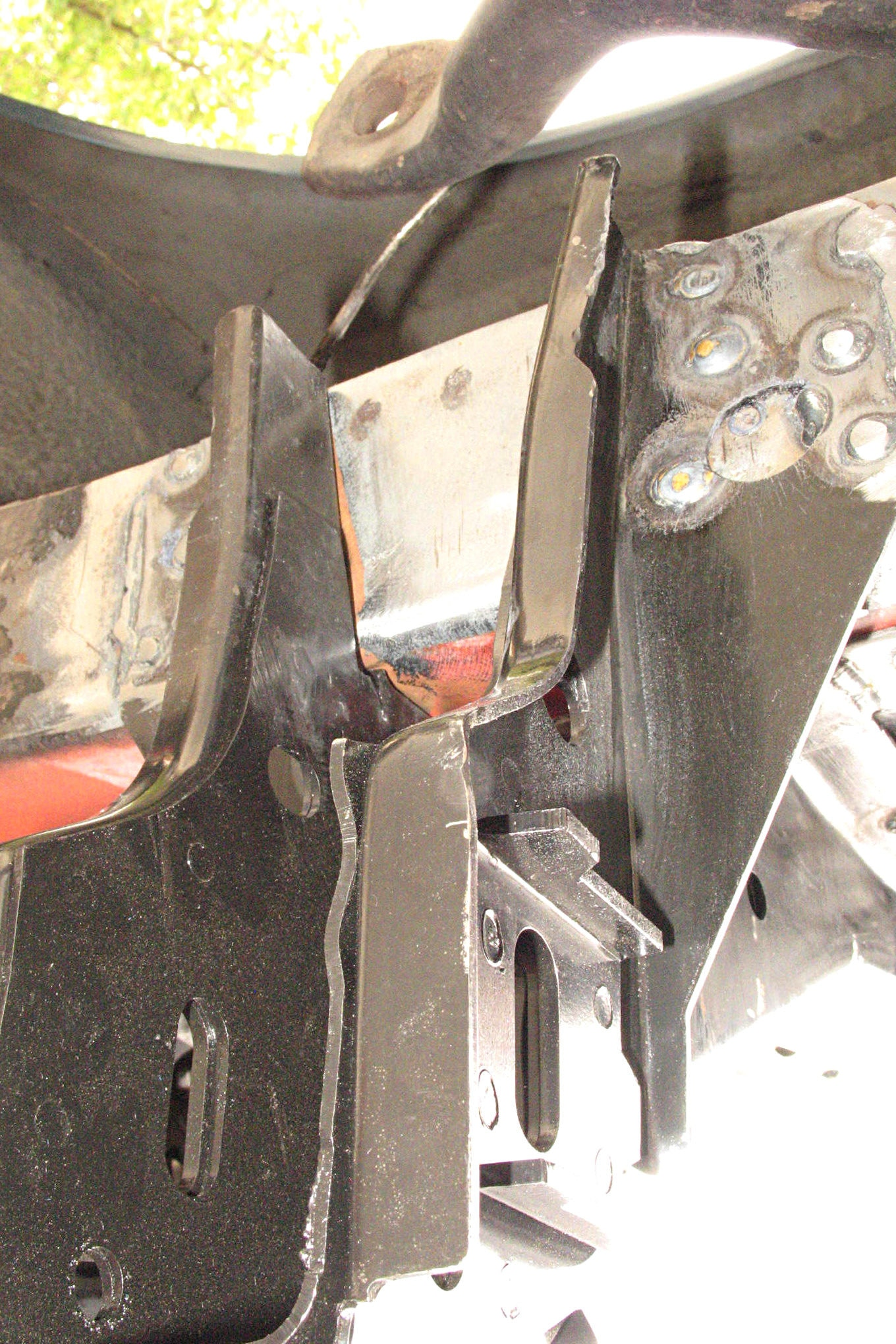 026 Shock Tower Replacement Frame Bracket Installed E1487874320985