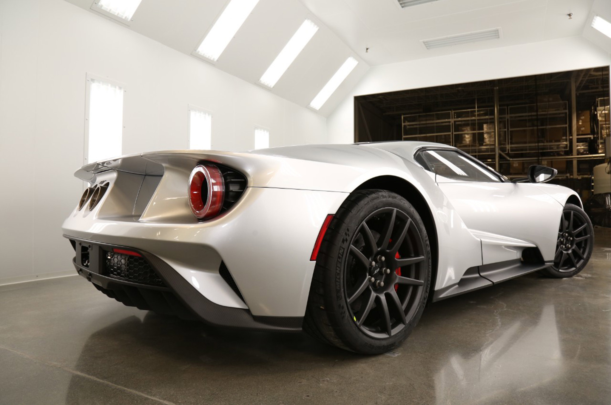 2017 Ford GT Competition Series 007 Rear 3qtr