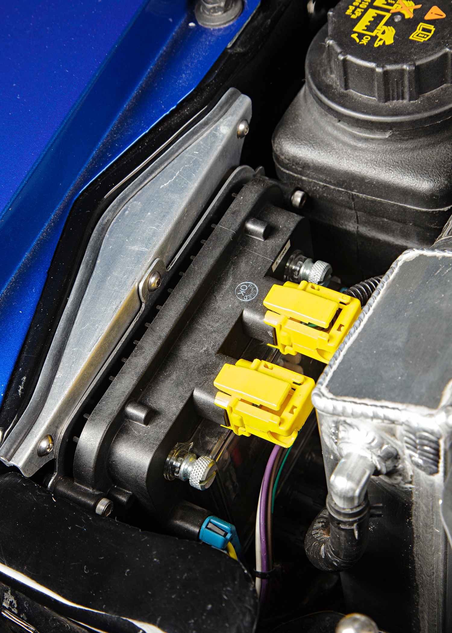 1969 Ford Mustang Engine View 1