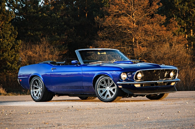 1969 Ford Mustang Front View