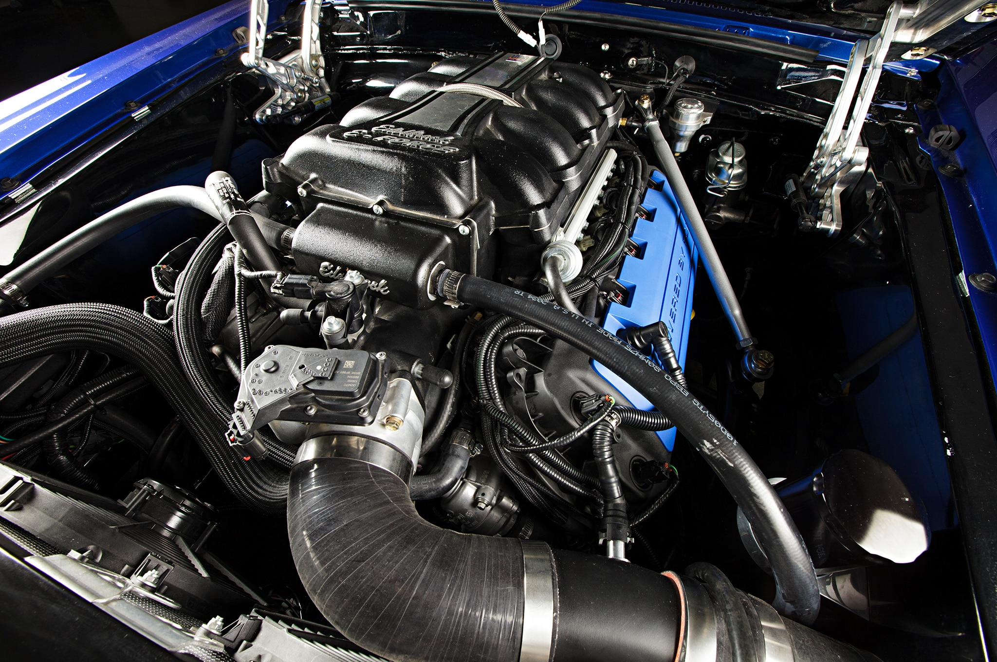 1969 Ford Mustang Engine View