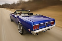 1969 Ford Mustang Rear View
