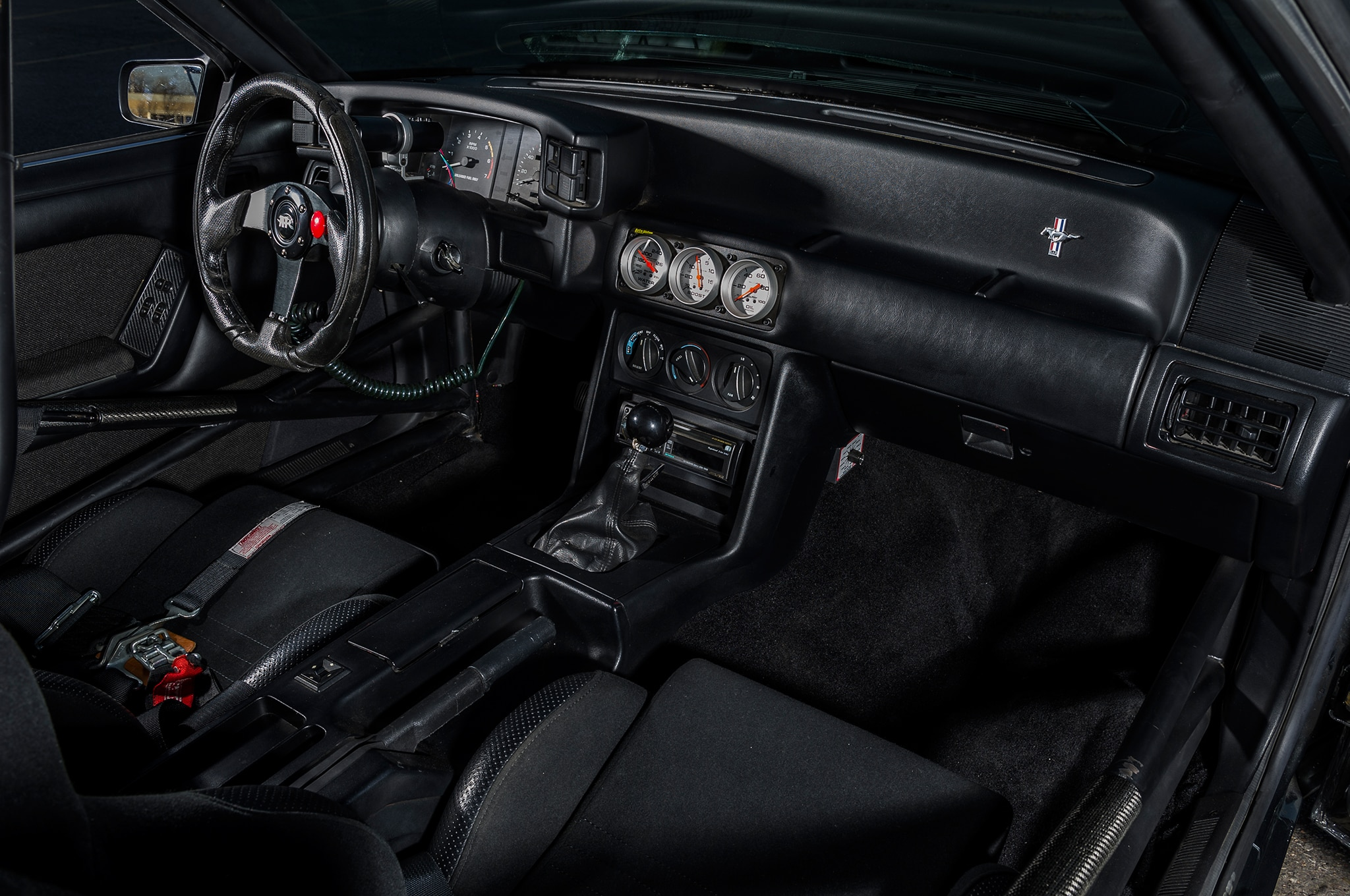 1989 Mustang Coupe Quarter Panel