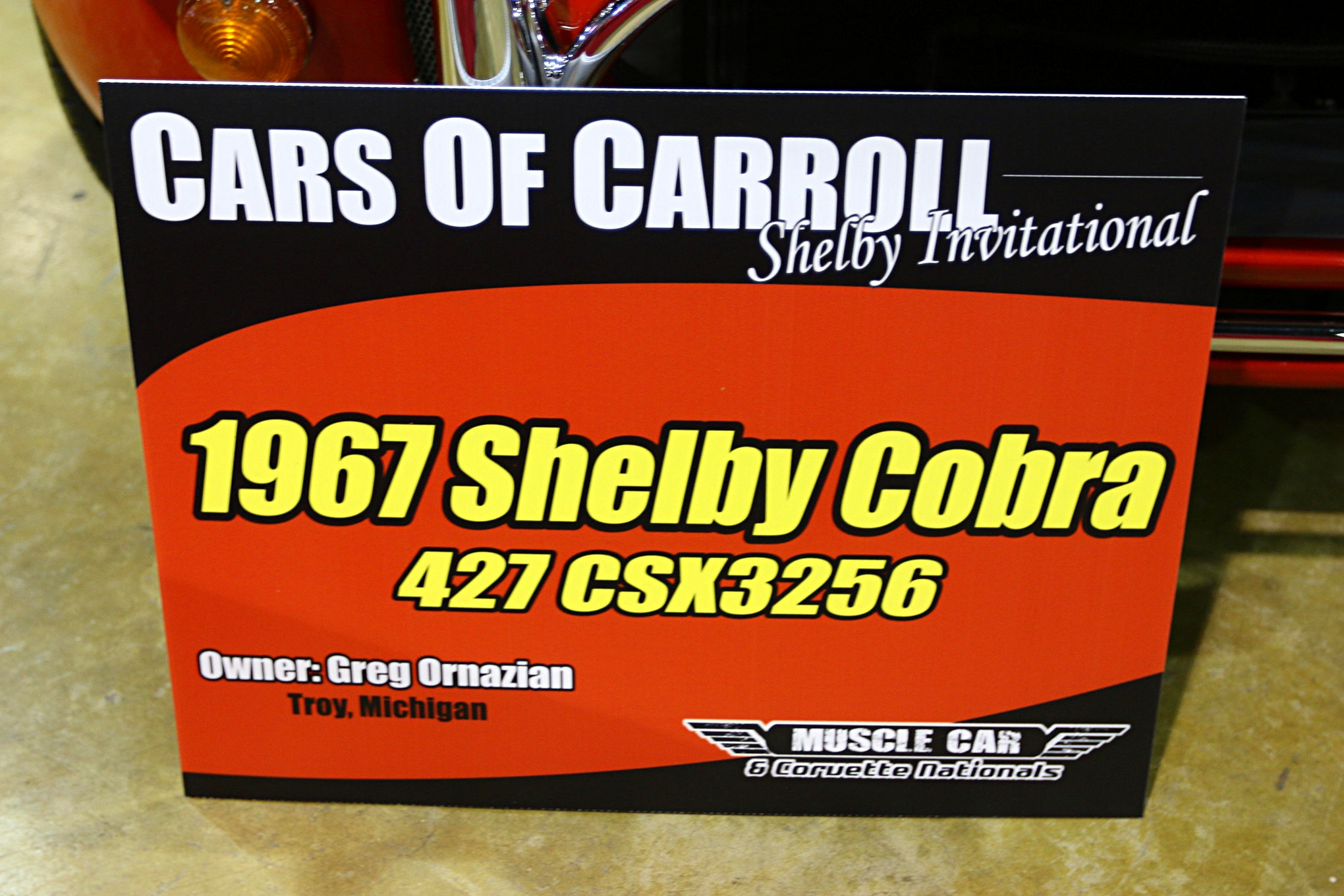 2016 Mcacn Shelby 30