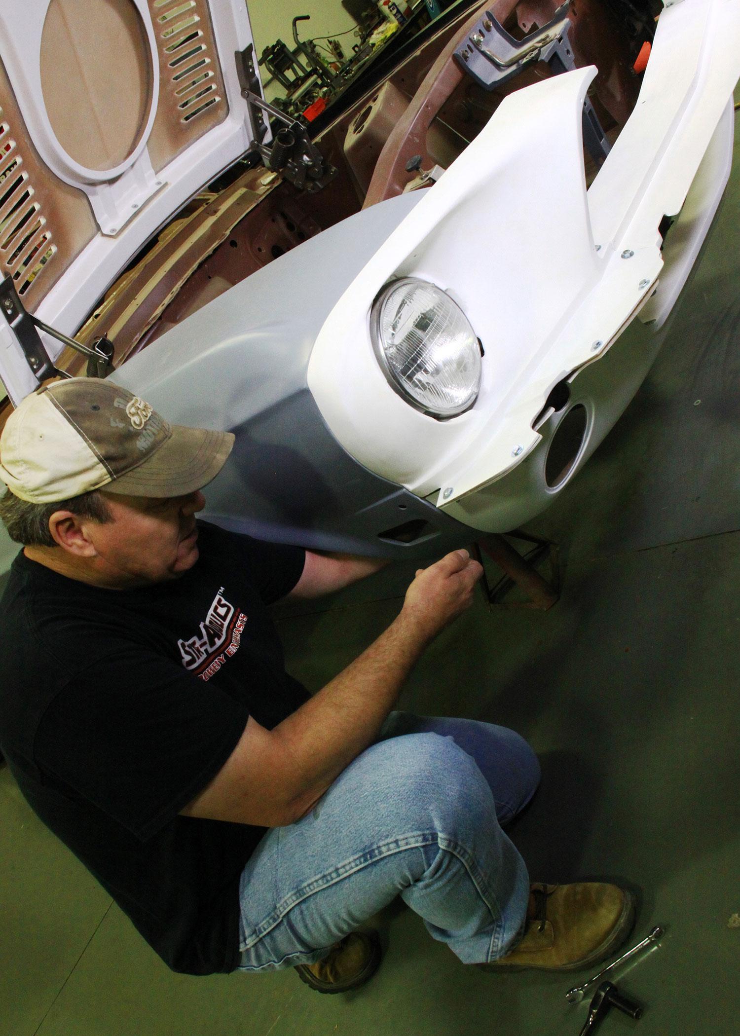 1967 Ford Mustang Fiberglass Install