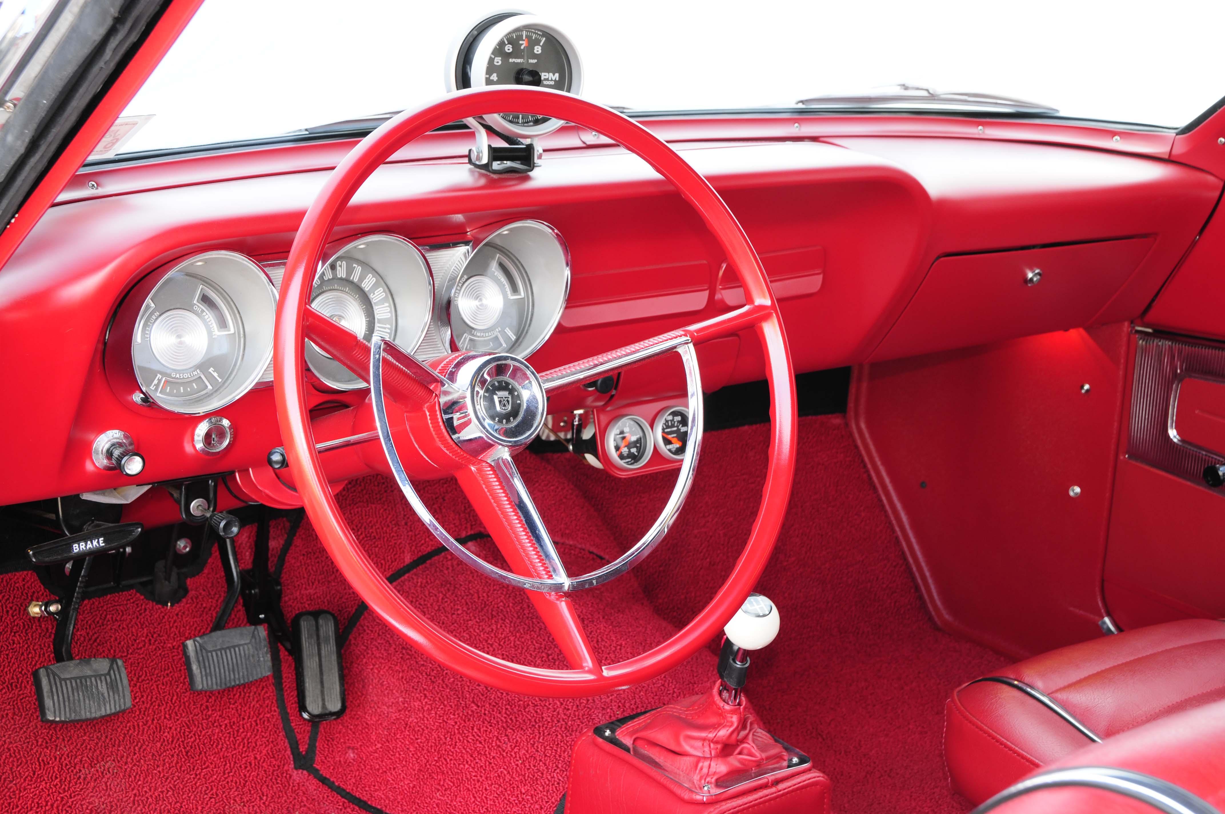 1963 Ford Fairlaine 500 427 Y Block Steering Wheel