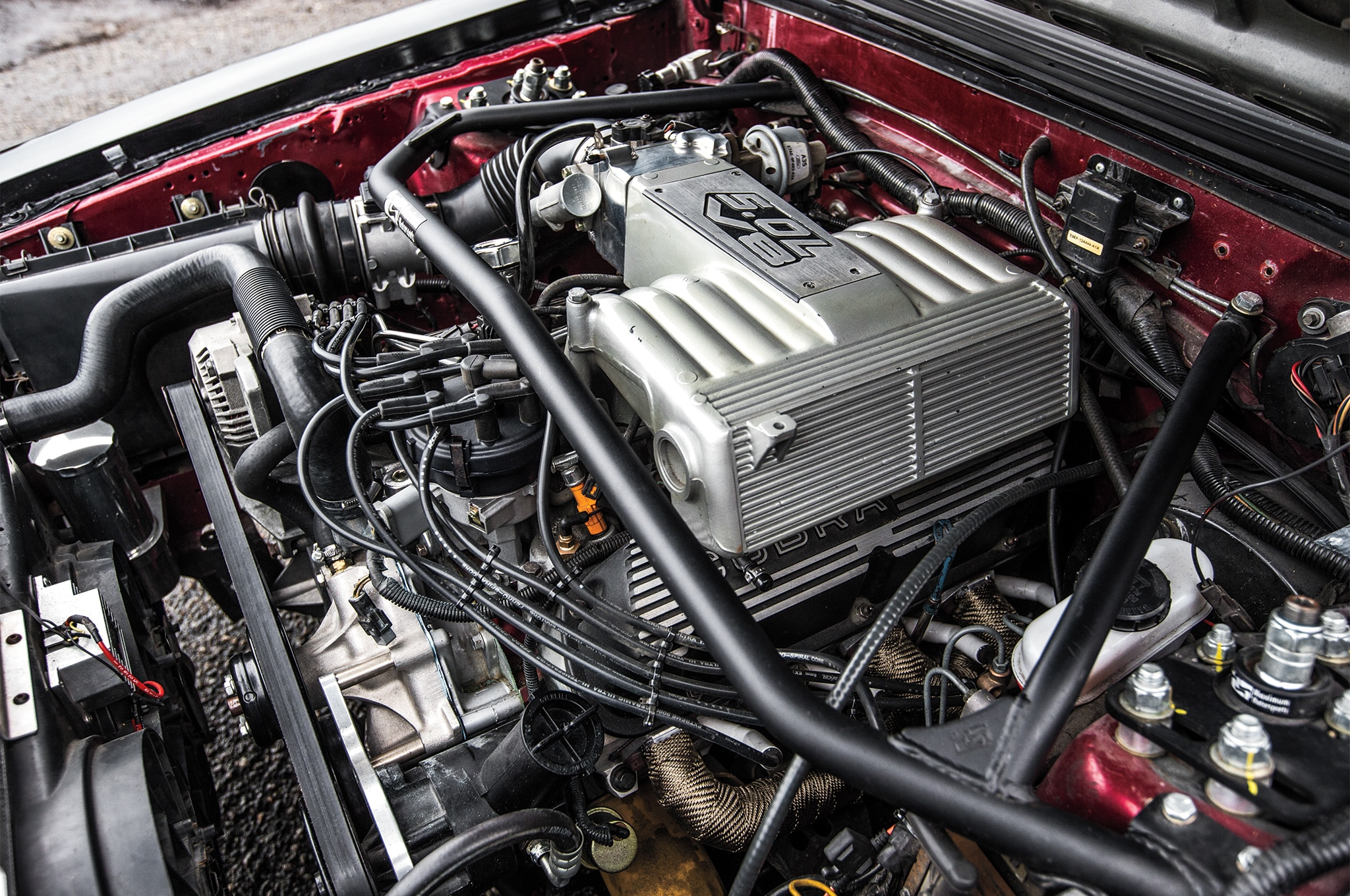 1988 Ford Mustang LX 5 0 SSP Engine