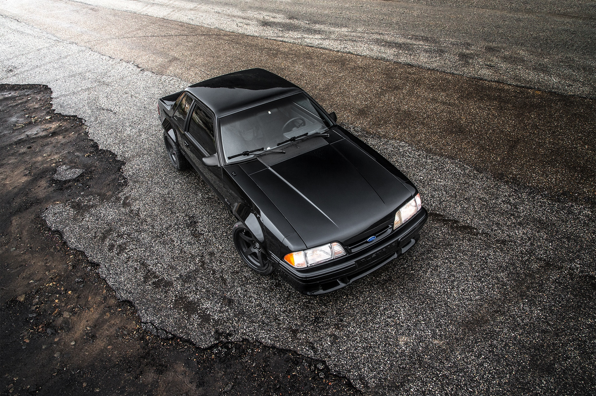 1988 Ford Mustang LX 5 0 SSP Top View