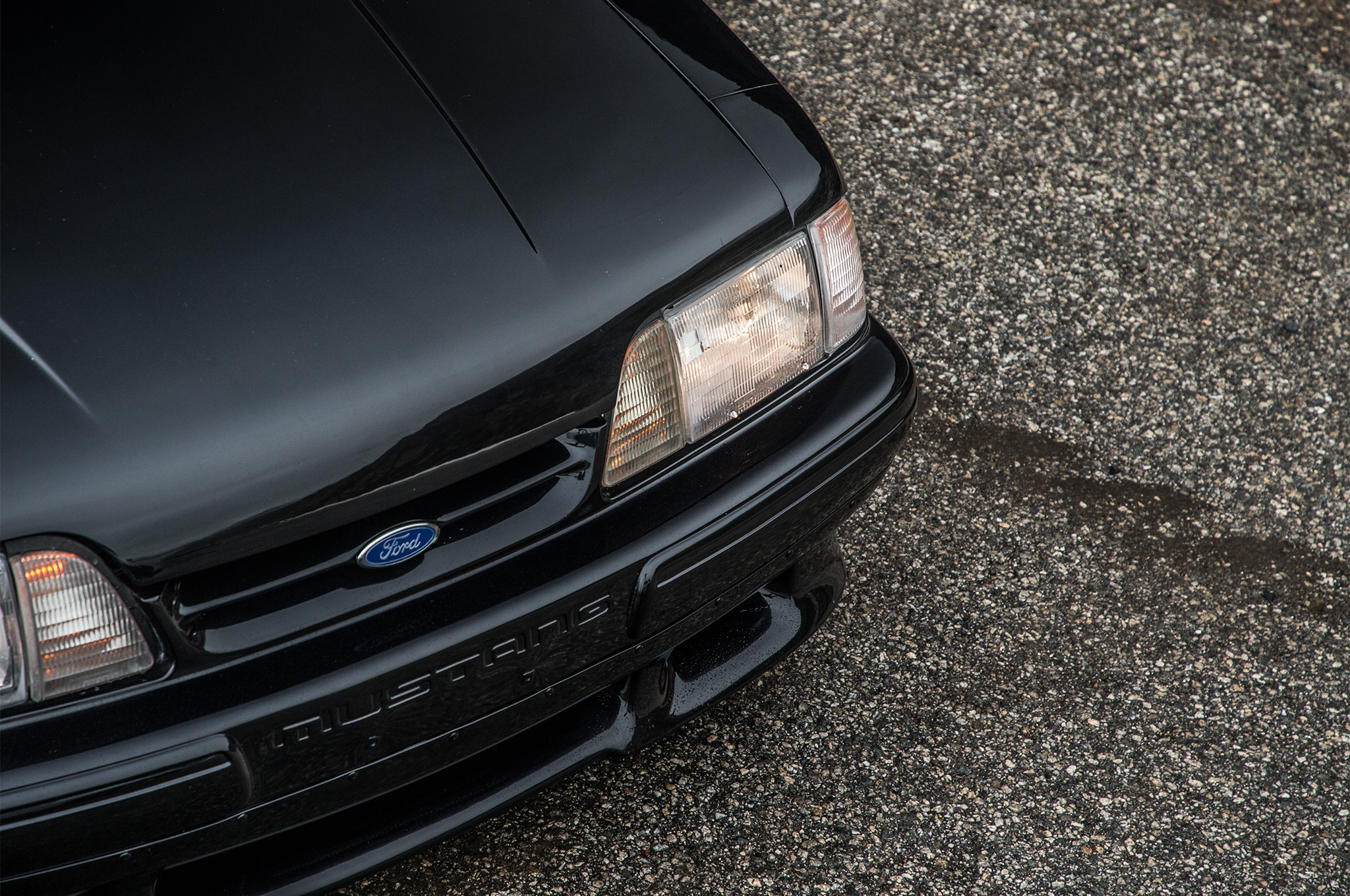 1988 Ford Mustang LX 5 0 SSP Front End Detail 04