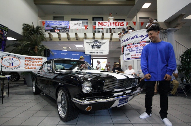The Make-A-Wish Mustang: 1965 Ford Mustang