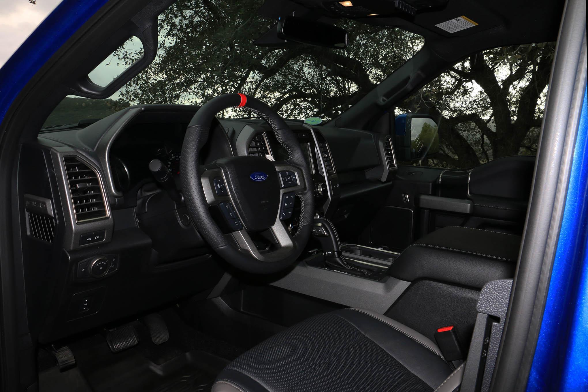 011 Raptor Driver Side Interior