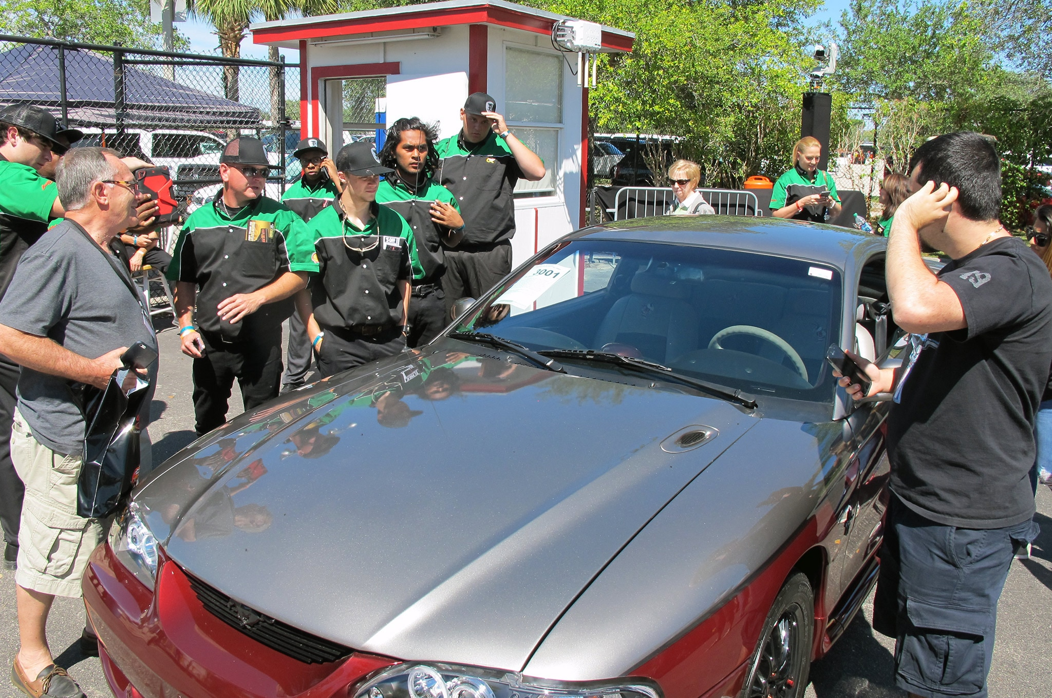 Quaker State Mustang Ready To Cross The Auction Block 002