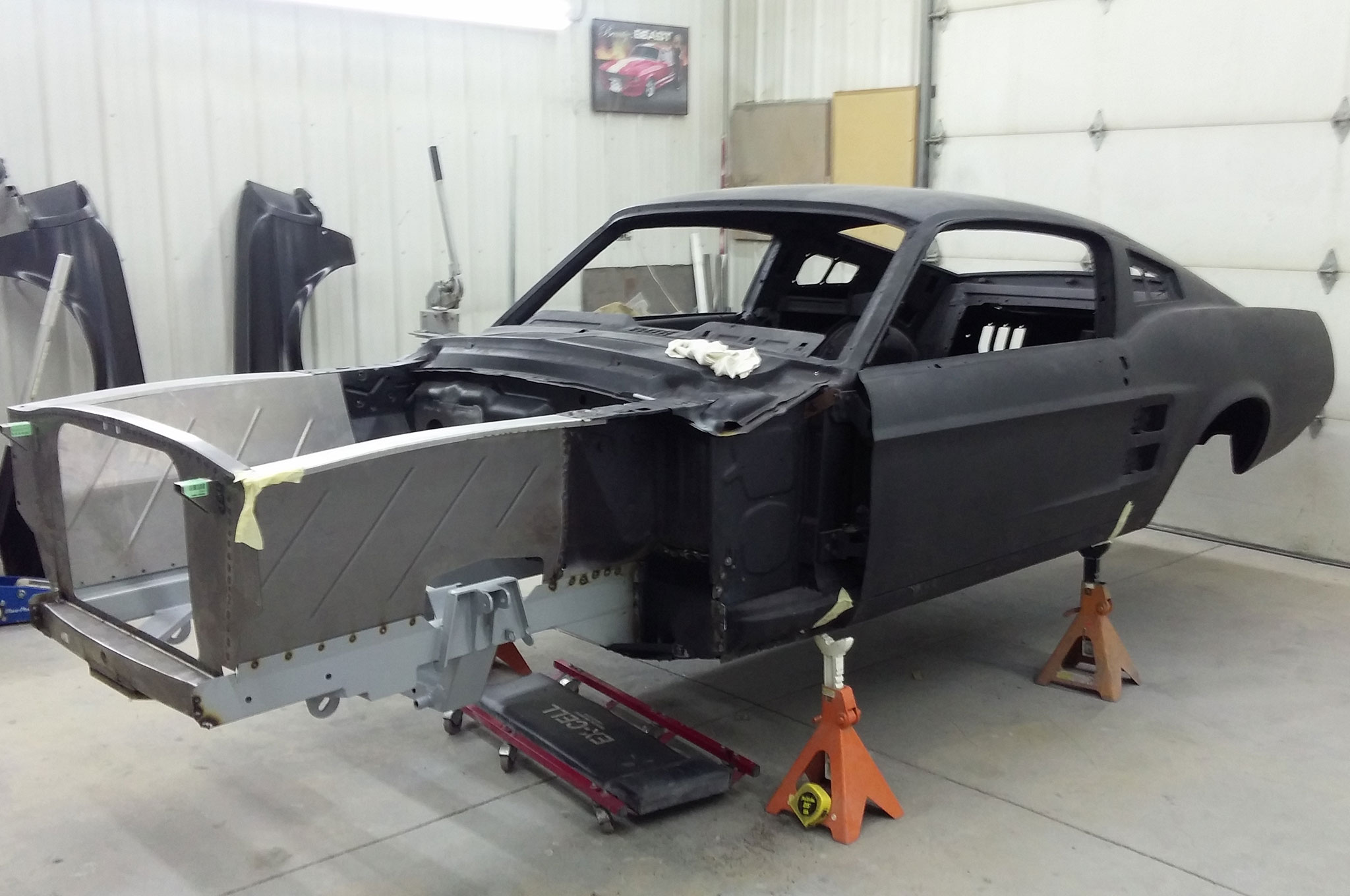 1967 Ford Mustang Fastback Subframe