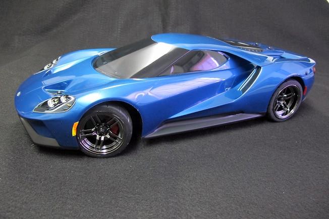 Traxxas 001 Ford GT Liquid Blue