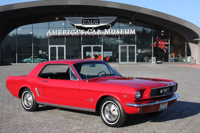 1966 Ford Mustang Hardtop Red