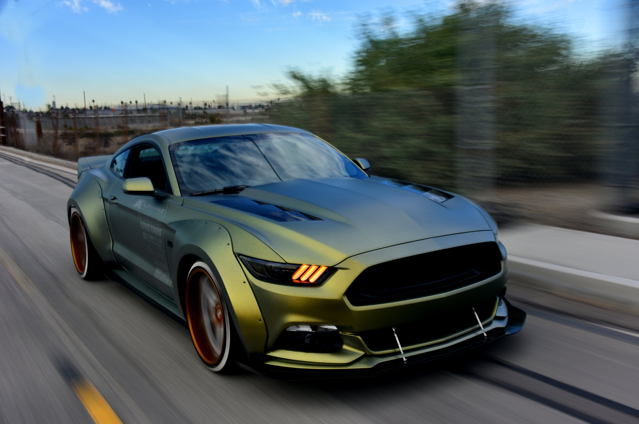 Robbie Bryant S 2016 Widebody Mustang S550 Is A Stirrer An Agitator