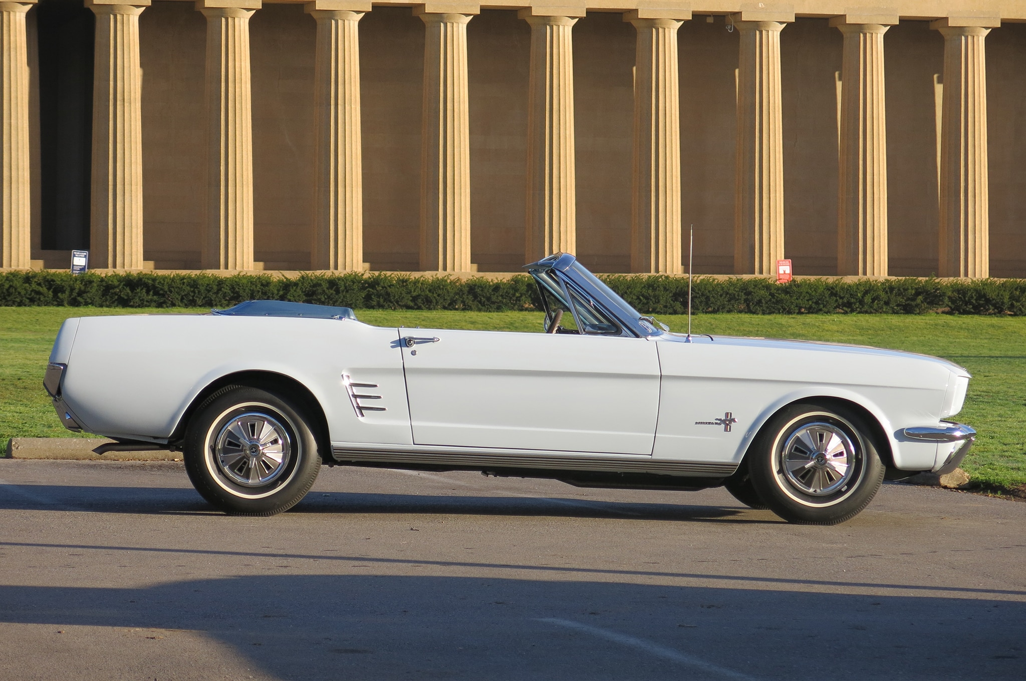 1966 Ford Mustang Side View