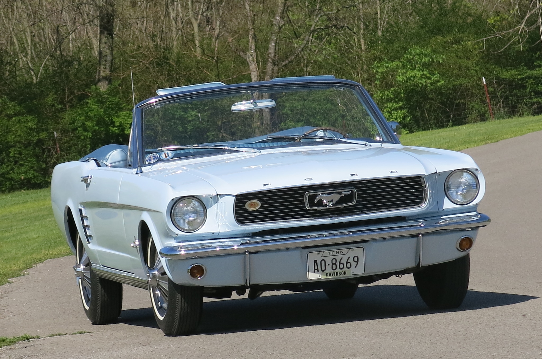1966 Ford Mustang Front View