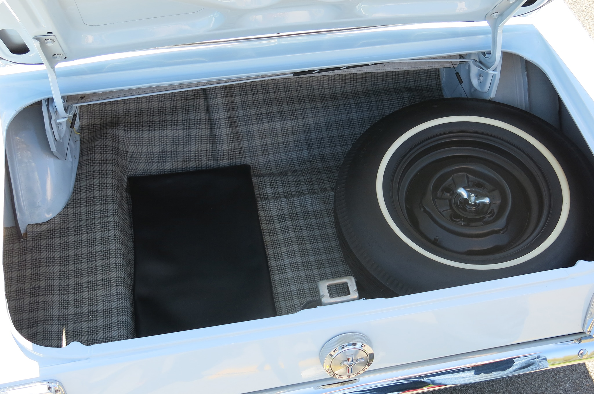 1966 Ford Mustang Trunk