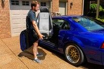 Corbeau Seat Install Mustang 011