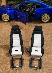 Corbeau Seat Install Mustang 001