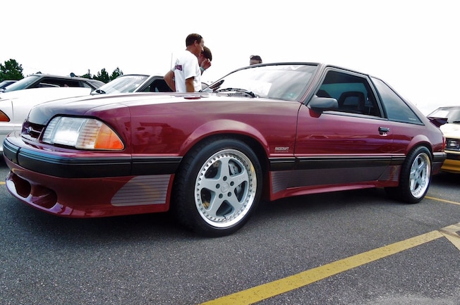 1989 Ford Mustang Saleen Front
