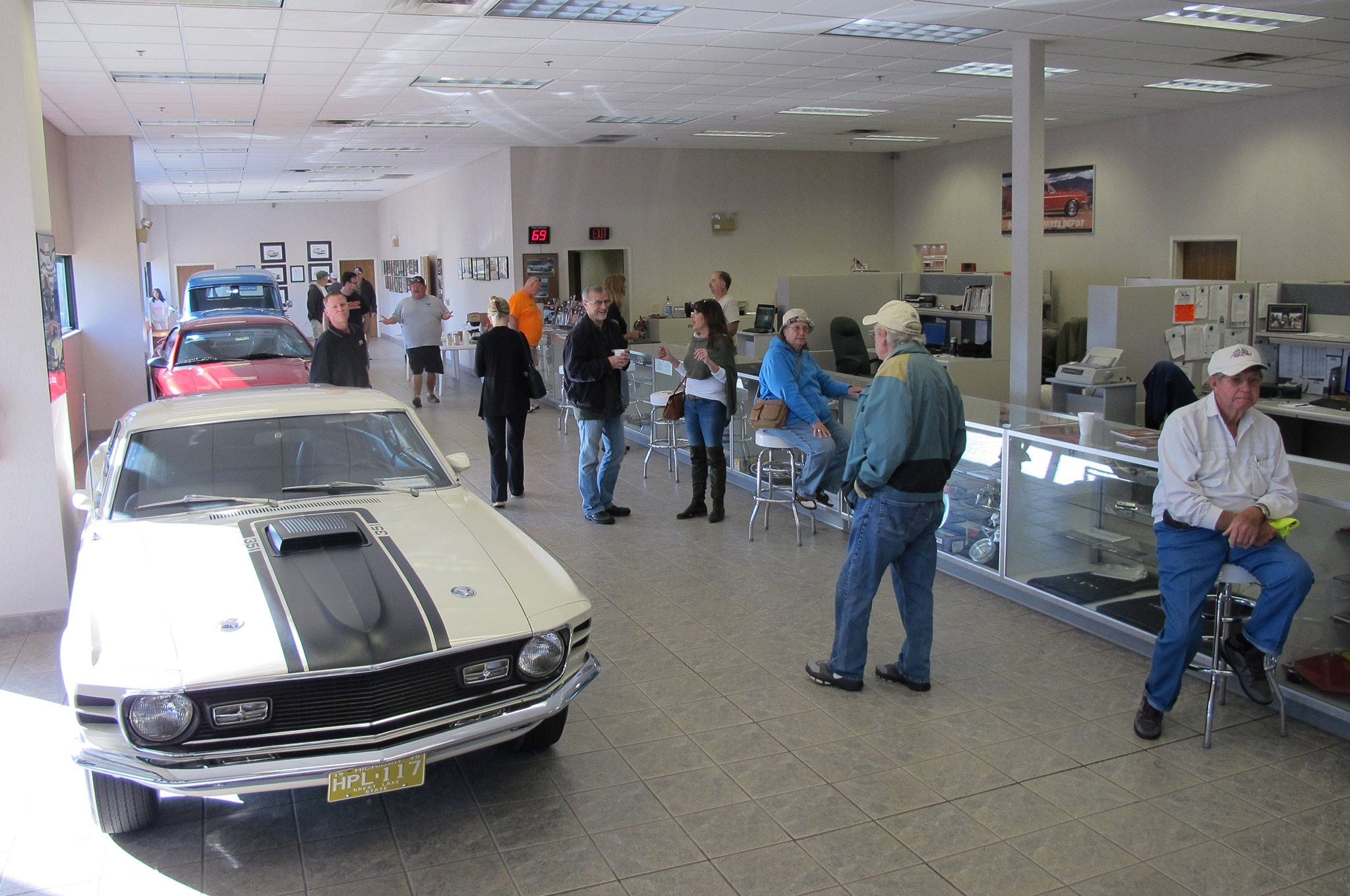 2017 Silver Springs Roundup 003 NPD Showroom